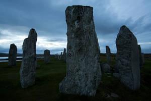 Callanish Standing Stones by EvaMcDermott