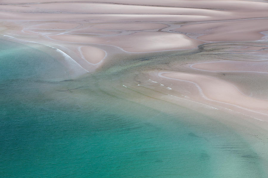 Gruinard Bay Abstract by EvaMcDermott