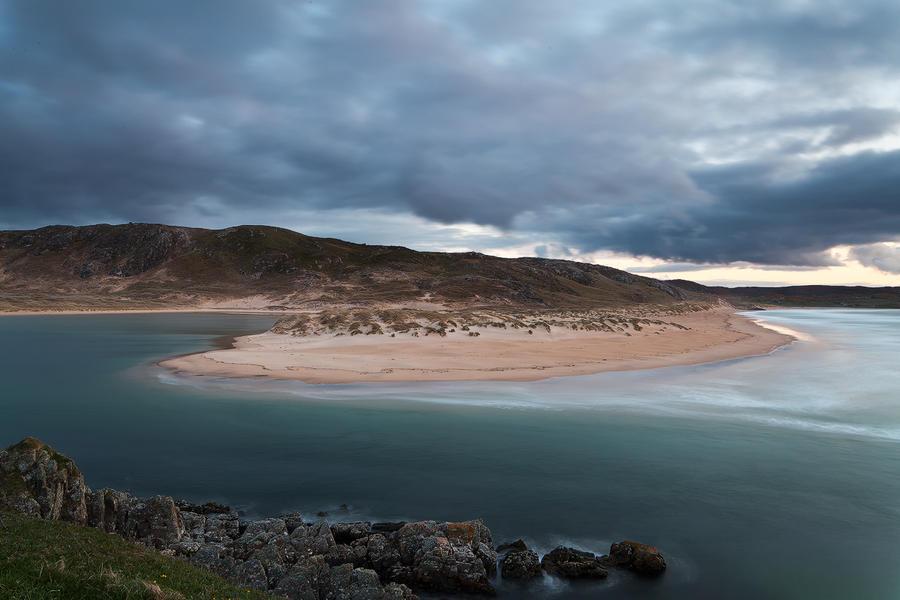 Dunes Surf Clouds by EvaMcDermott