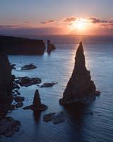 Duncansby Sea Stacks Sunrise by EvaMcDermott