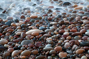 Cove Bay Pebbles by EvaMcDermott