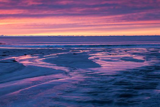 Flakstad Beach at Dusk