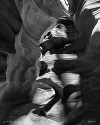 Face of Antelope Canyon