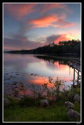 Quiet Sunset by EvaMcDermott