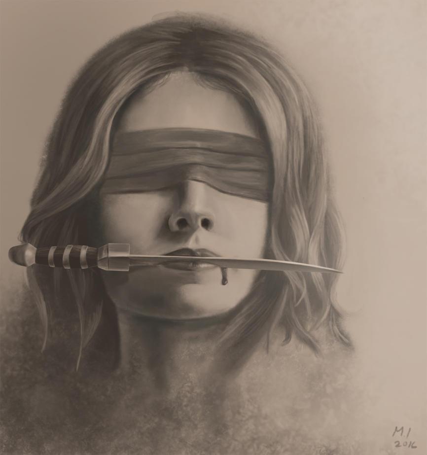 Psychotic by MaroonIllustrator