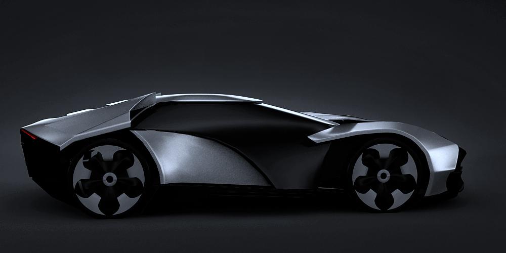 Lamborghini Evoluzione Side By Gabihantig On Deviantart