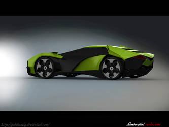 Lamborghini Evoluzione Back By Gabihantig On Deviantart