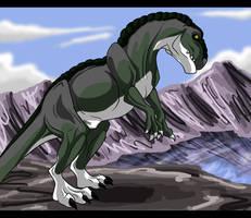 T-rex by GermanDark