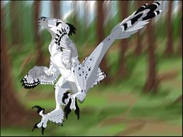 Holy Raptor Jebus by GermanDark