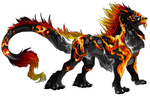 Lightning and Fire by GermanDark