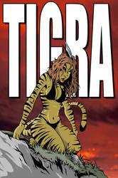 Tigra by UndeadComics