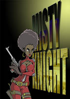 misty knight by UndeadComics