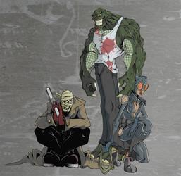 last few batman villains by UndeadComics