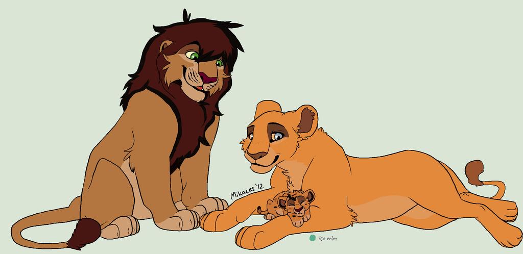 Erevu and Asha's youngest cub by kopaisfluffy
