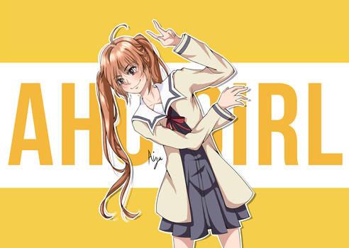 Aho Girl (Habatake Yoshino) AHO GIRL FANART