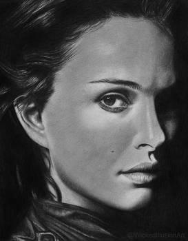 Natalie Portman by WickedIllusionArt