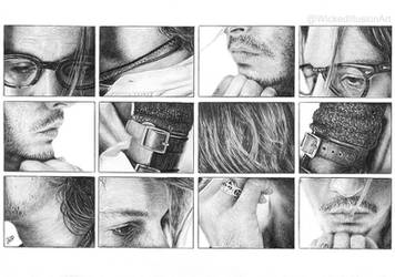 Parts of Depp by WickedIllusionArt