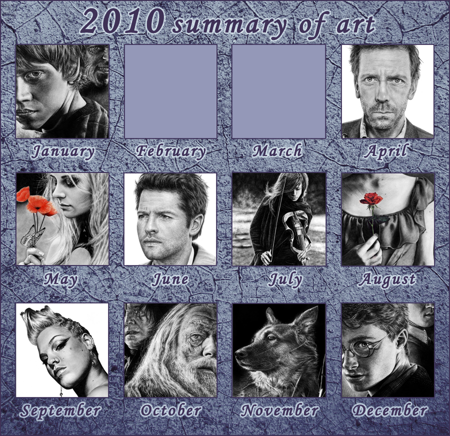 2010 Summary of Art by Wicked-Illusion