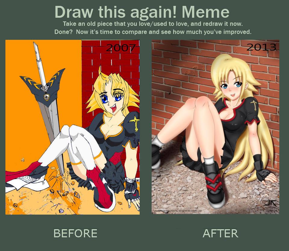 ReDraw Meme Jura Impressa Versa Viera by jetfree730