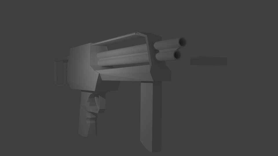 Blender SMG WIP by damperthedizzy