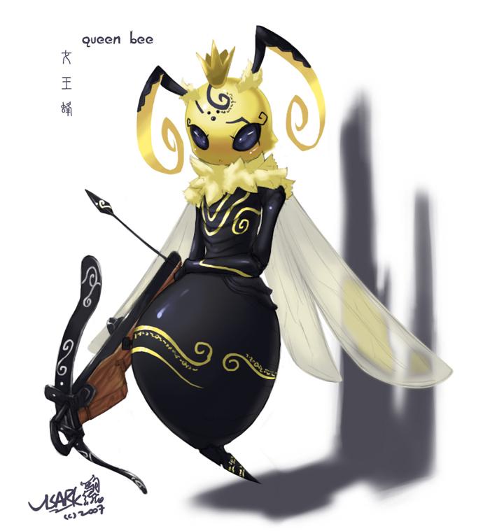 queen bee by Visark
