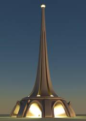 Retro Futuristic Tower 2