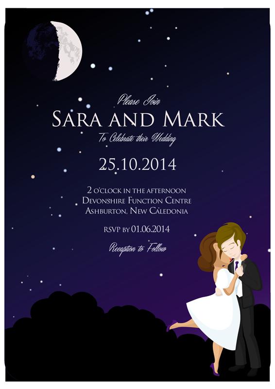 Wedding Invitation Design by Cymae on DeviantArt
