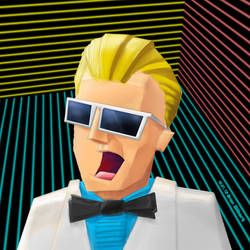 Me Max Headroom by d4rkl1gh7