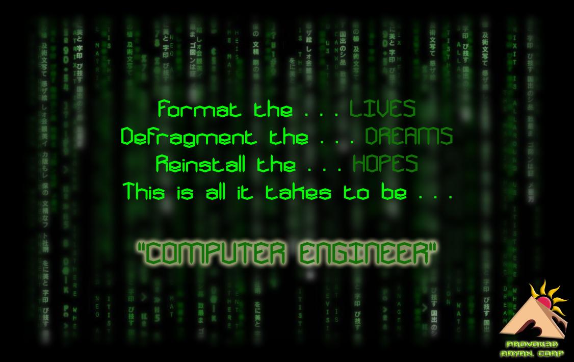 Computer Engineer by AryanVijay on DeviantArt