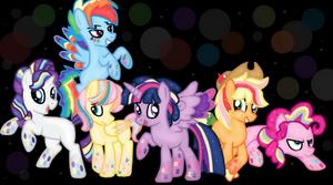 Rainbow Power Colt Version-By PrincessLunaDash