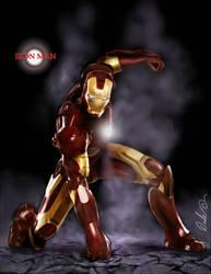 iron Man by dalecogan