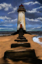 lighthouse by dalecogan