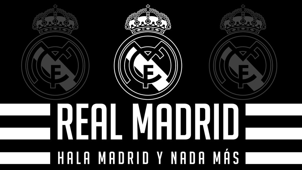 4K] Real Madrid Wallpaper - Black