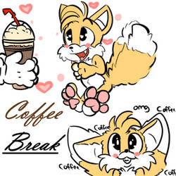 Coffee Makes Tails Go FLOOF