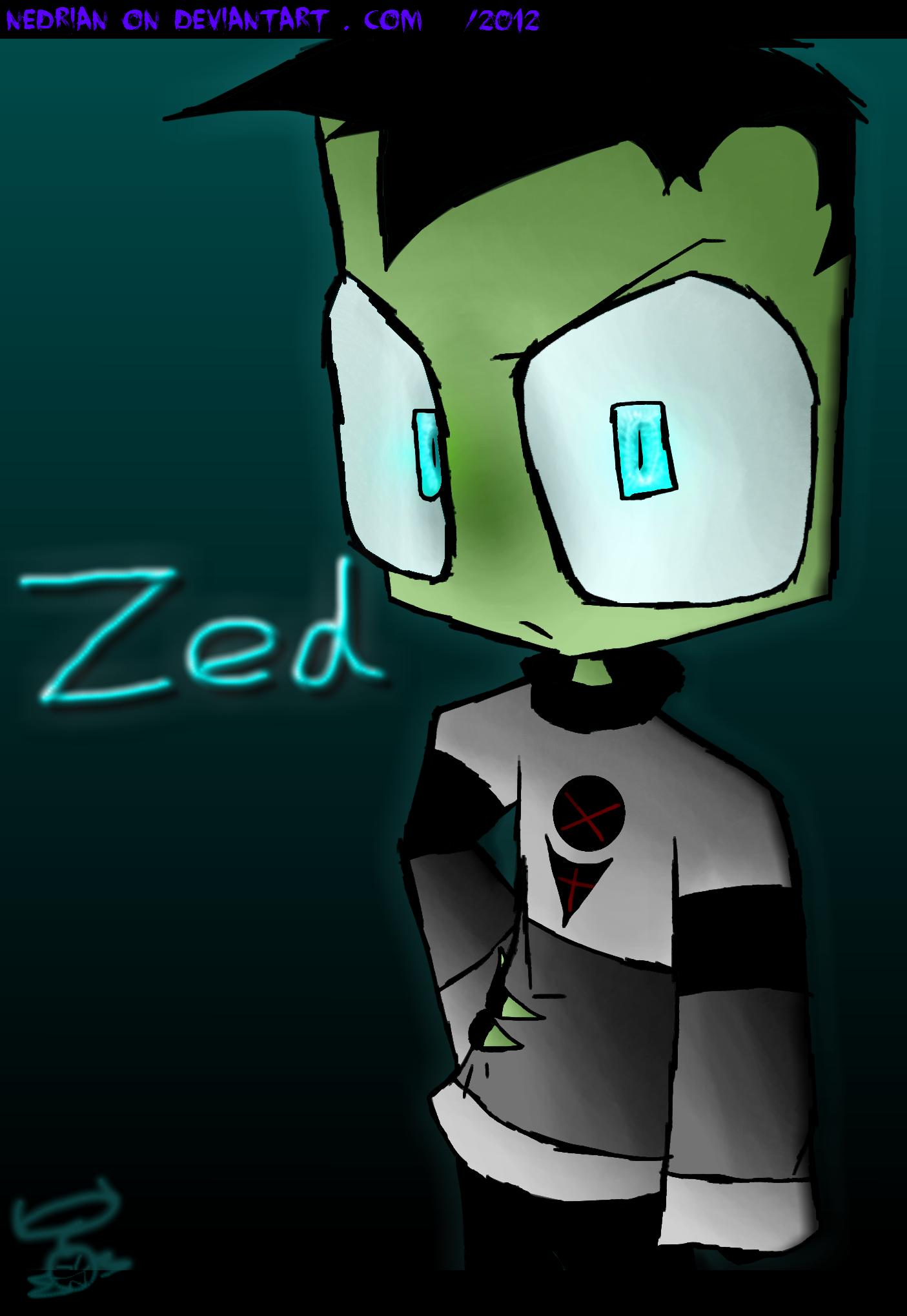 ___:Zed:___ poster by Nedrian