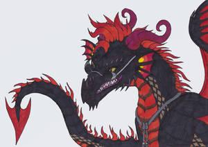 Good Omens - Dragon - Crowley