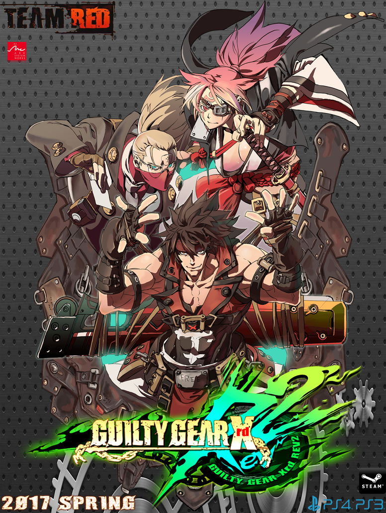 GUILTY GEAR Xrd -REV2- fan poster by kiteazure
