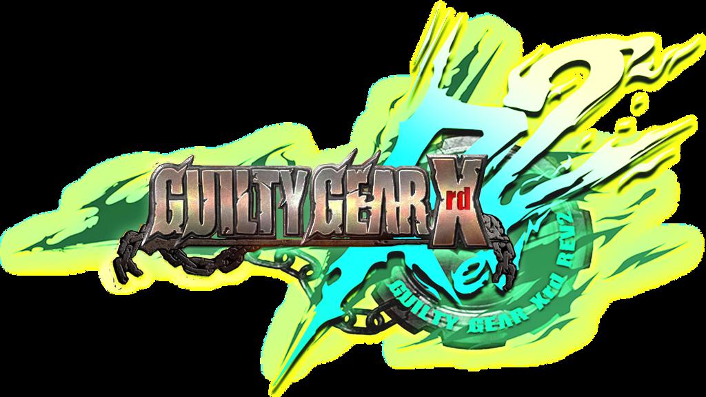 GGXRDREV2 -XRD metallic logo with chains version- by kiteazure