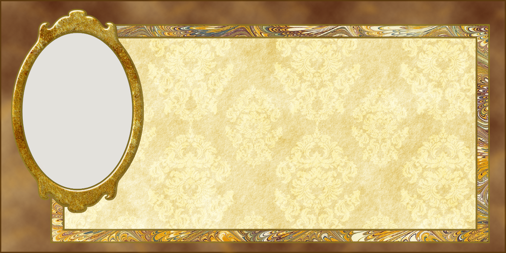 Gold Frame Card by bellaknoti on DeviantArt