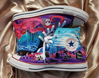 Spooky Shoes by PlasticRabbits