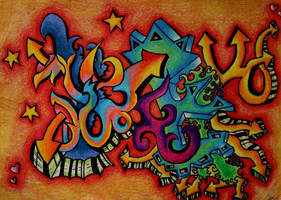 graffiti by aishwaryadeepak