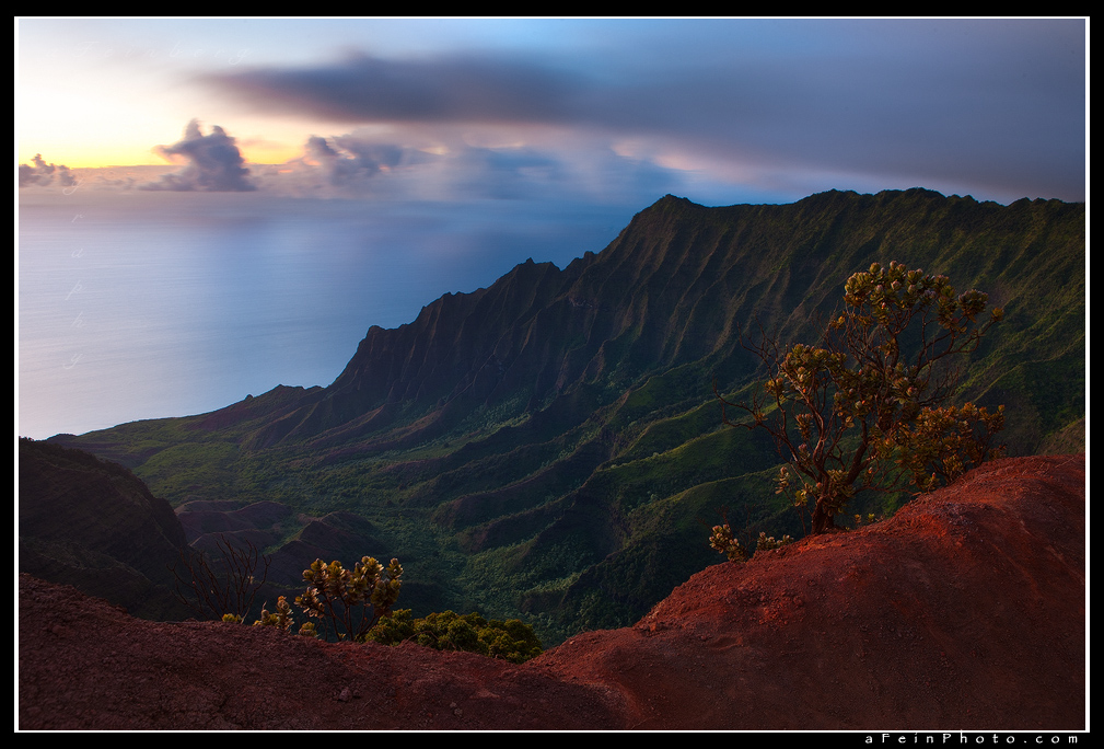 Kalalau Twilight by aFeinPhoto-com