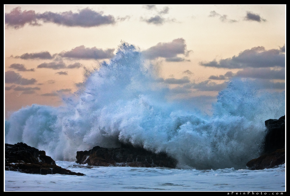 Shorebreak At Twilight by aFeinPhoto-com