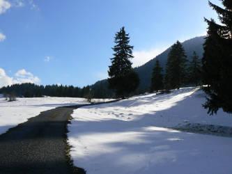 Road to Vlkolinec