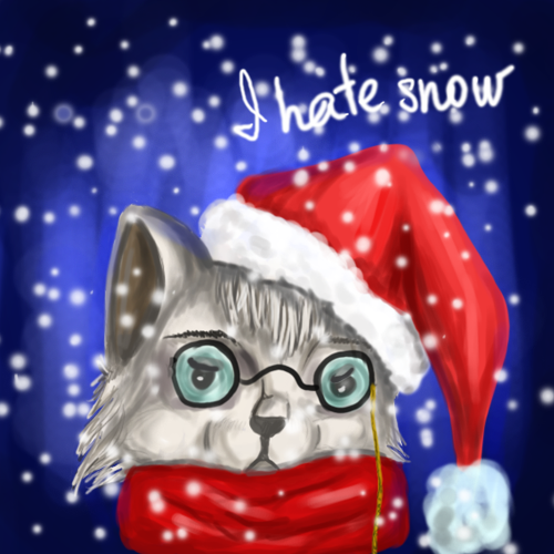 I hate snow. by LikeraG
