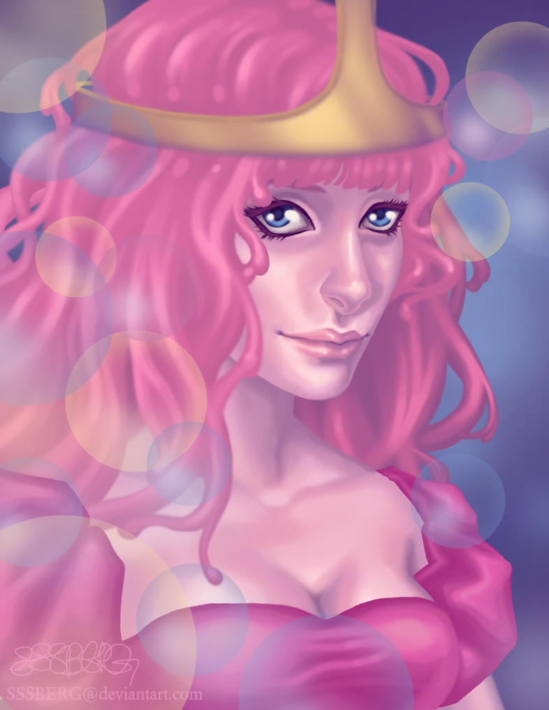 Princess Bubblegum by sssberg