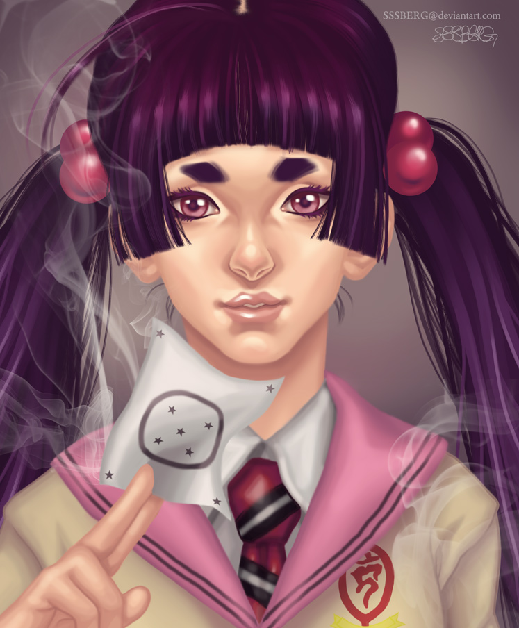 Izumo-of-Blue-Exorcist by sssberg
