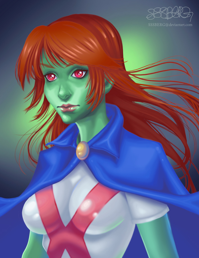 Miss Martian by sssberg