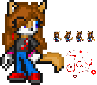 Jay the Pixelwolf by Filly-Milly