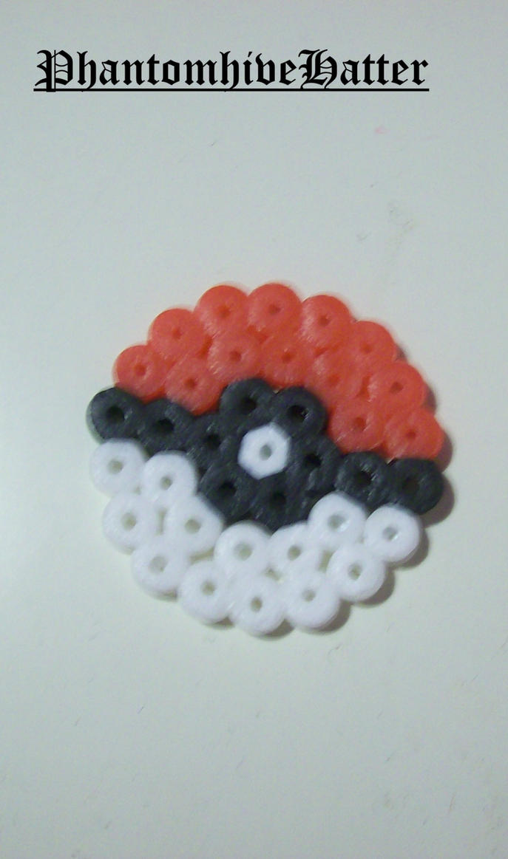 hama beads pokeball by euakotsou on deviantart